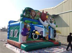 Les enfants à jouer de petits animaux de Jungle gonflable Jumping bouncer