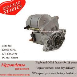 Para os motores Kubota Trator Usando as peças Auto Denso - Produtor de arranque do motor