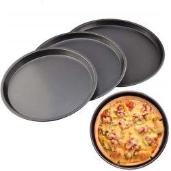 Kuchen-Form Bakeware runde Abstreifentellersegment-Pizza-Stahlwanne