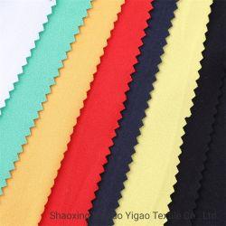 Têxteis Yigao Elastano poliéster tricotadas escova DTY único tecido Jersey
