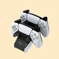 PS5 controlador de consola de videojuegos Accesorios Cargador Estación de carga de la piel cubierta de la placa base Hack de acoplamiento
