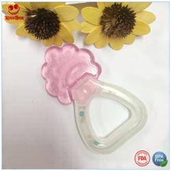 Двойная вода Teether младенца трещотки цветов