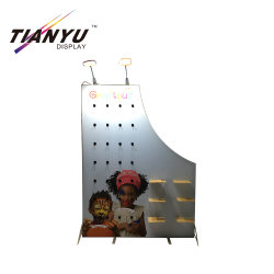 Stand de exhibición portátil de aluminio modular del sistema de visualización con piso de la iluminación de Guang Dong