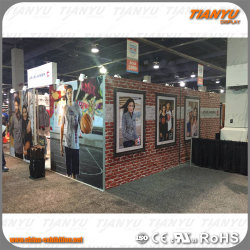 전시용 중국 제조업체 현대건물 자재 벽 판매 부스 제작