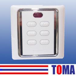 Настенный переключатель и приемник Tmr02 для ролика затвора и двери