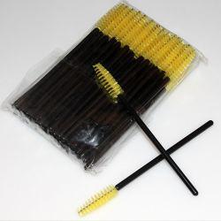 Cepillo para pestañas desechable de un solo uso Aplicador de rímel Cepillo de varilla Cepillo para pestañas