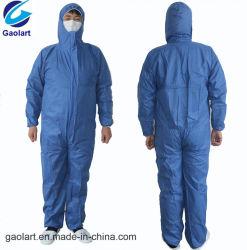 Housse élastique en tissu non tissé SMS / robe de protection
