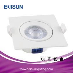 Площадь початков Ce RoHS индикатор угла поворота с регулируемой яркостью потолочные направленного вниз света 12V