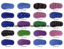 Hoja de espuma EVA suelas de zapato con diferentes colores y tamaños