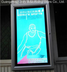 Outdoor poster Snap avec verrouillage de trame