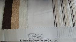 Novo Projeto Popular Stripe Organza Voile puro tecido Cortina 0082134