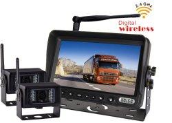 Système de sauvegarde sans fil de Veise 2.4G hertz Digitals, 1/3 CMOS 600tvl avec des filtres de vision nocturne