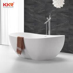 衛生浴室製品のアクリルの固体表面の人工的な樹脂の石の浴室の浴槽の人工的な贅沢な大理石