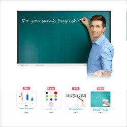 T6 시리즈 65'', 75'', 85'', 86'', 98''' 인치 대화형 화이트보드 교육 교실에서 사용