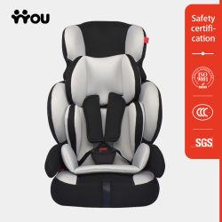Asiento de coche infantil del niño del OEM del aumentador de presión de coche de la elegancia agradable del asiento
