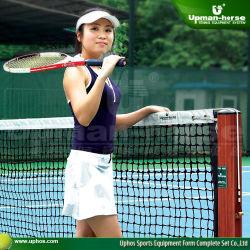 De Post van het tennis met Ondergrondse Koker, de Post van het Tennis