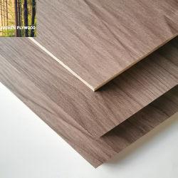 2mm/2,5 mm/8mm/12mm/16mm/18mm de papel de melamina Laminado de madera contrachapada de placa de MDF enfrenta junta