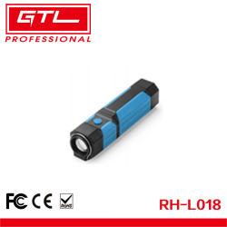 줌 가능한 LED 플래시 비상 작업등 3W COB 작업등 자석 및 후크 포함(RH-L018)