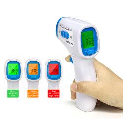 非TF-600レーザー銃の接触の大人の耳の額の熱のスマートなデジタル臨床電子赤外線医学の温度計