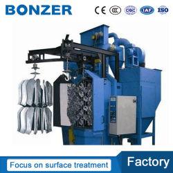 Haute qualité type à crochet grenaillage Machine dans le nettoyage de surfaces de divers types de produits avec les petites et moyennes des lots