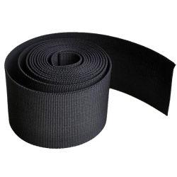 Zwart/wit Levering sterke nylon band met riem