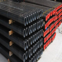API de alta calidad 5CT K55 L80 P110 negro de carbono tubo carcasa de acero sin costura para el servicio de los yacimientos de petróleo