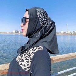 2020 Nouvelle conception Arabie arabe musulman Hijab Baju Prom Night Hijab Baju Simple Hijab formelle Hijab châle ondulée Hijab Turban Simple Fresh Sabrina Hijab col roulé