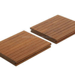 Pavimentazione di legno di bambù di Decking del solido di prezzi di fabbrica 20mm