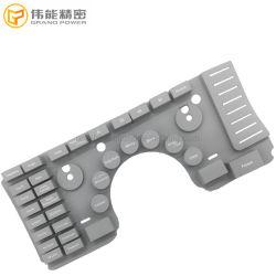 医療機器のゴムキーボードのためのカスタムカラーレーザーのエッチングの絵画シリコーンボタンのキーパッド