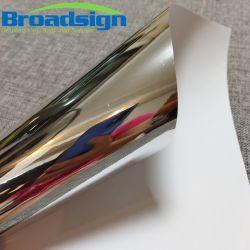 El vinilo de corte metálico brillante color plateado cromado Pet PVC BR2102