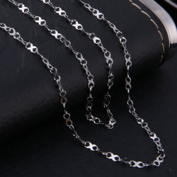 Fashion Jewelry Design Eight Figure Embossed Chain ketting Armband Anklet