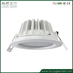 Verdeler 15W IP44 Mini Spot Light CRI90 warmwitte lens met antireflectiecoating Ingebouwde Downlight SMD ronde LED-plafondlamp voor Decoration Hotels