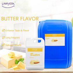 Food Grade saveur du beurre de haute qualité pour la grande usine