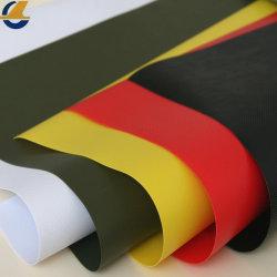 Zwaar waterdicht industrieel vlamvertragend vinylcanvas met UV-bescherming Dekzeilen PVC Polyester gecoat dekzeil stof voor truck cover water Tank
