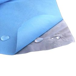 قماش PP مطلي بالفم بدون نسيج غير منسج مع طبقات PP مع مقاومة فائقة للماء، بالإضافة إلى تهوية جيدة