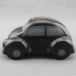 Groothandel Speelgoed Auto's Kever vorm Zwart PU schuim Promotioneel Speelgoed Accessoires voor kinderen kinderen die Juguetes Stress Ball gebruiken