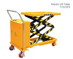 A transmissão do elevador eléctrico de movimento da mesa de elevação elétrica tipo tesoura hidráulica / máquina