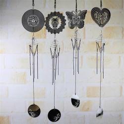 カスタマイズされた庭の装飾の風の紡績工の螺線形の回転クリスタル・ボールの風チャイム