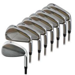 工場カスタムゴルフクラブアイアンセット全ソフトアイアン鍛造 特別な銀めっき