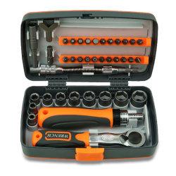 Set di utensili combinati per uso domestico da 38 pezzi, utensili per utensili manuali Toolbox Set di cacciaviti