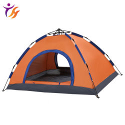 도매 더블 도어 싱글 레이어 자동 야외 텐트