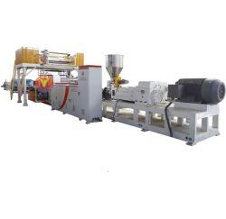 Línea de producción de baldosas de PVC, línea de extrusión de piso LVT, plástico RVP WPC SPC máquina de fabricación de piso