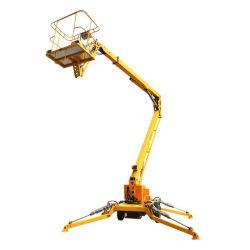 Qiyun 12m altezza 200 kg capacità di carico sollevamento braccio rimorchio/raccoglitrice/crociera Sollevatore utilizzato per la manutenzione e la pulizia di attrezzature ad alta quota