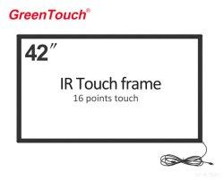 Screen-Konvertierungs-Rahmen-Testblatt-Installationssatz-Infrarotnoten-Rahmen USB-multi DIY 42inch IR für Fernsehapparat