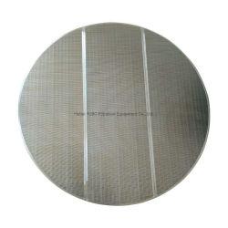 Panneau de fils à coin pour écran de Lauter Tun en acier inoxydable