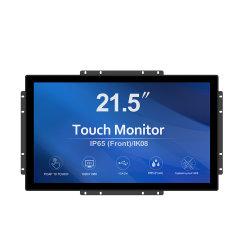 "Greentouch Ik08 Vandal-Proof e IP65 impermeabilizza video di tocco di Pcap Openframe del grado industriale 21.5 """