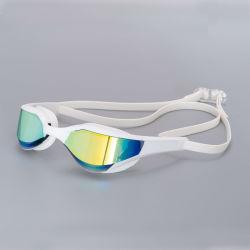 Sports nautiques de lunettes de protection UV Racing Anti-Fog adulte lunettes de natation