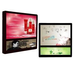21,5 polegadas de montagem em parede Publicidade Display duplo ecrã Monitor para a elevação do elevador