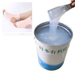양말은 가린다 인쇄한 Non-Slip 코팅 액체 유기 실리콘 (화학제품)를