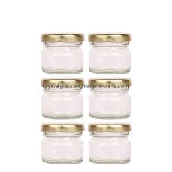 50ml el frasco de cristal para la miel o nido de pájaro pequeña capacidad